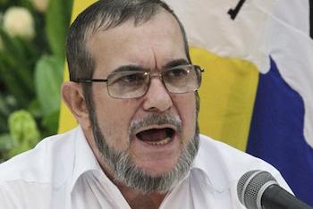 FARC commander-in-chief, Rodrigo Londoño Echeverri, alias