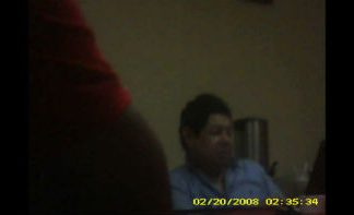 Still image of meeting between former Security Minister Benito Lara and gangs