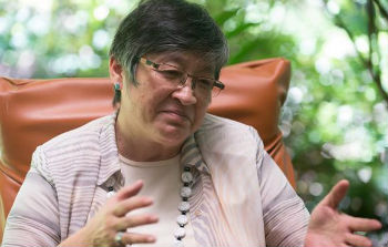 Guatemalan activist Helen Mack