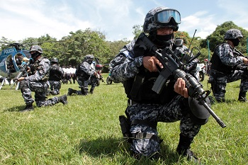 El Salvador's elite police unit