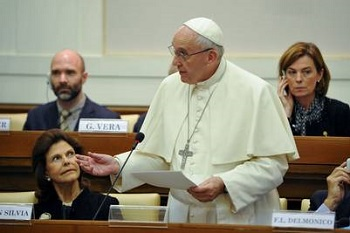 Pope Francis warned of increased drug consumption in Argentina.