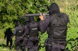 Police officers in El Salvador