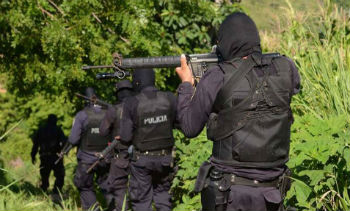 Police officers in El Salvador