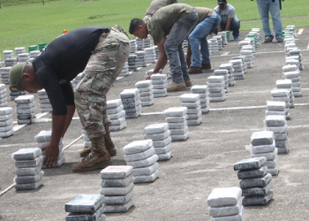 Seized drugs in Panama