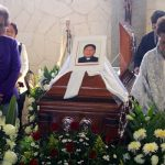 The funeral of Alejo Naborí, one of the three priests murdered in Mexico this year