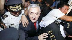 Imprisoned ex-President Otto Pérez Molina