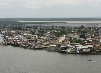 Tumaco, the site of battles for former FARC turf