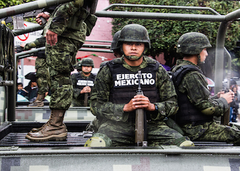500 Mexican troops will relocate to Ciudad Mier.