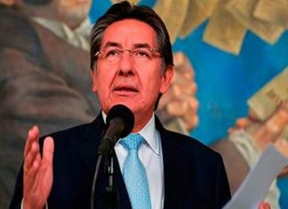Colombia's Attorney General Néstor Humberto Martínez