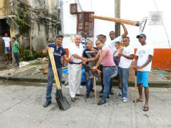 Members of Panama's Secure Neighborhood program