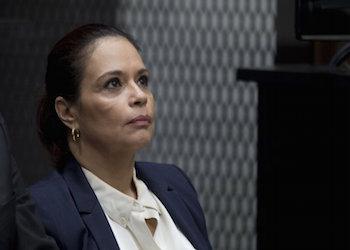 Former Guatemala Vice President Roxana Baldetti