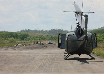 The Aguacate airstrip allegedly used by President Zelaya's brother to traffic drugs