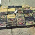 Part of the 160 kilograms of cocaine seized in El Salvador on March 12. Photo courtesy of La Prensa Gráfica.