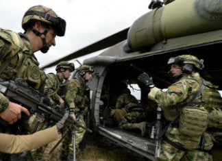 Colombian soldiers are permitted to combat GAO