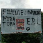 EPL graffitis in Colombia's Catatumbo region