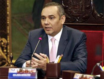 TSJ President Maikel Moreno