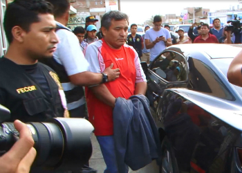 Richard Ramos Ávalos, mayor of Chilca, arrested by Peruvian authorities