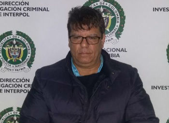 Colombian police arrested William Rafael Vargas Maestre, alias
