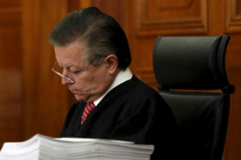 Mexican Supreme Court Justice Arturo Zaldivar Lelo de Larrea