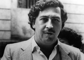 Pablo Escobar, leader of the Medellín Cartel