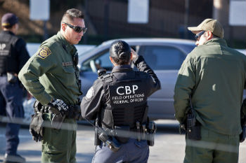Customs and Border Protection agents