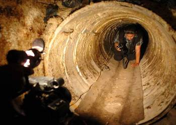 Is drug tunnel use in decline on the US border?