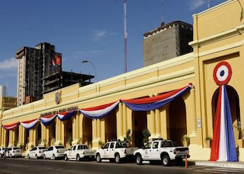 Paraguay's National Police headquarters