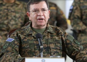 El Salvador's Defense Minister David Munguía Payés
