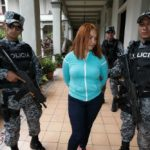 """La Patrona"" after her arrest in El Salvador"