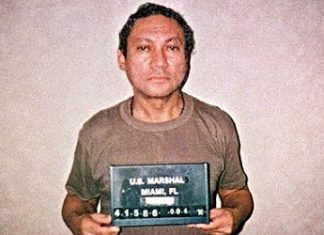 Panama's Manuel Noriega jailed in the United States