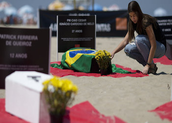 Brazil's youth, female and Afro-Brazilian populations continue to be affected by violence