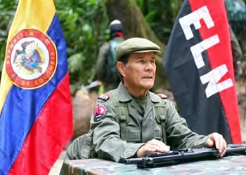 ELN commander-in-chief Nicolás Rodríguez Bautista, alias