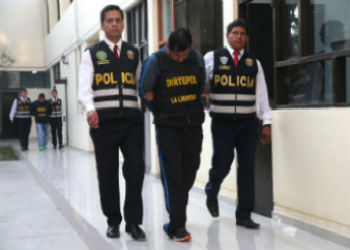 Peruvian police capture alleged extortionists