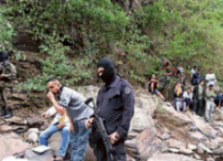 Scene at suspected death squad massacre