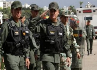 Several generals are integrating President Maduro's new cabinet