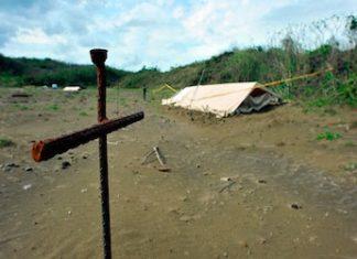 Colinas de Santa Fe, site of Mexico's largest mass grave discovery