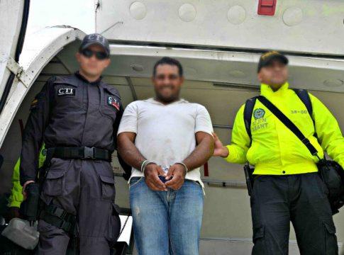 Colombian authorities arrest a BACRIM