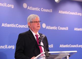 Brazil's prosecutor general Rodrigo Janot at the Atlantic Council on July 19, 2017.