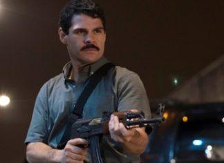 """Marco de la O as drug lord  Joaquín Archivaldo Guzmán Loera in the Netflix series """"El Chapo"""""""
