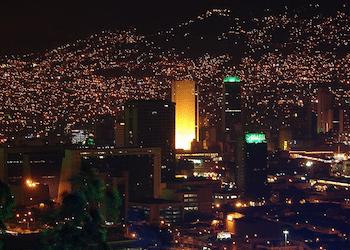 Medellín, Colombia, famed for its crime reduction programs