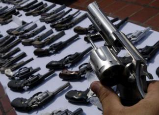 Firearms are used in a large majority of murders in Honduras