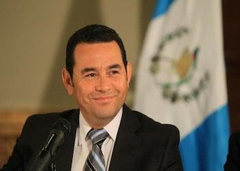 Guatemala President Jimmy Morales