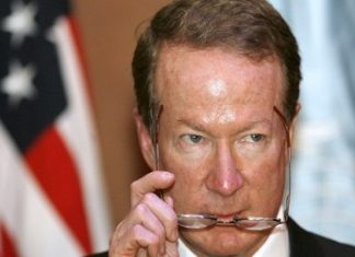 Top US anti-drug diplomat William Brownfield