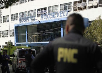 The attack on the Roosevelt Hospital left seven dead