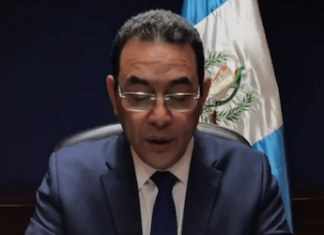 Guatemala President Jimmy Morales announces expulsion of CICIG Commissioner