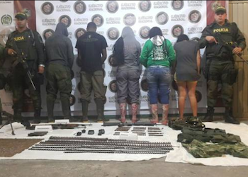 FARC dissidents arrested in Nariño