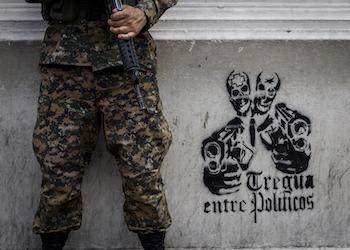 Graffiti that reads,