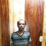 A leaner Amauri Carmona Morelos under custody