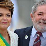 "Dilma Rousseff y Luiz Inácio ""Lula"" da Silva, expresidentes de Brasil"