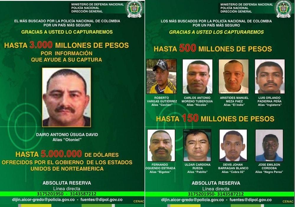 17 09 06 Urabeos 2 panfletos policia1